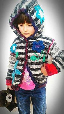 Detské oblečenie - Svetrík bláznivo farebný ;) - 9321117_