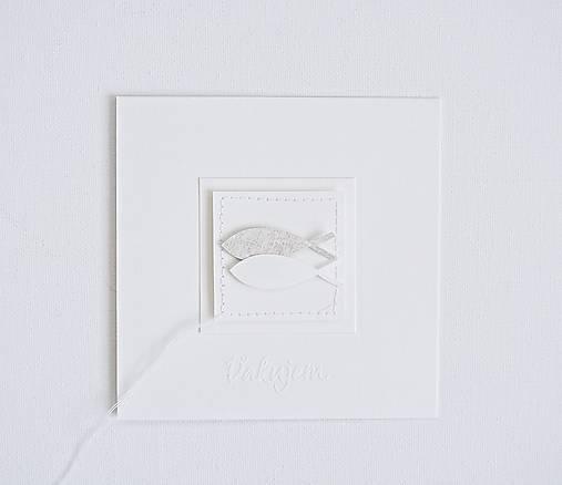 Pozdrav rybky - béžové