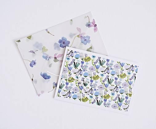 Papiernictvo - Pozdrav štýlový - kvetiny - 9322173_