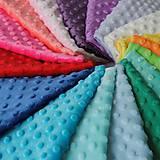 Textil - Vyber si minky látku s guličkami - 9321186_