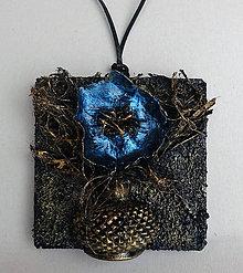 Iné šperky - Veľký drevený prívesok2 - 9321879_
