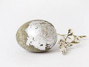 Dekorácie - betónové vajíčko To be Concrete - 9320829_