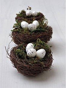 Dekorácie - Veľkonočné hniezda - 9321876_