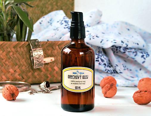 cac765ac30 AKCIA  Orechový olej (100 ml)  zľava 30%   ModraPupava - SAShE.sk ...