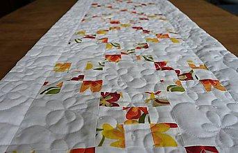 Úžitkový textil - Jarný stredový obrus II. - 9323382_
