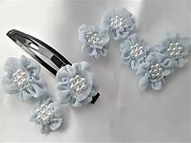Iné doplnky - Kvety z mušelínu - 9323413_