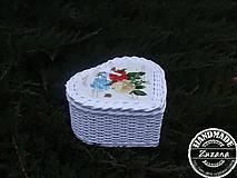 Srdiečko-krabička 23x18x10
