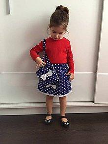 Detské oblečenie - Dievčenský set: suknička a kabelka - 9322349_