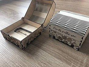 Krabičky - Veľkonočné truhličky z preglejky - 9321672_