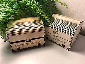 Krabičky - Veľkonočná truhlička z preglejky II. - 9321711_