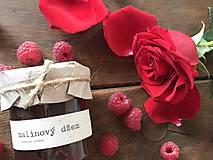 Potraviny - Malinový džem s ružovou vodou  - 9321559_