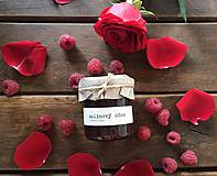 Potraviny - Malinový džem s ružovou vodou  - 9321566_