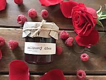 Potraviny - Malinový džem s ružovou vodou - 9321568_