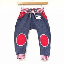 Detské oblečenie - Originálne turky celoročné námornícke 2 - 9321972_
