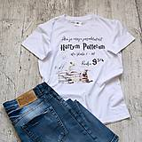 Tričká - Detské tričko Harry Potter (7-8 rokov (122-128 cm)) - 9322717_