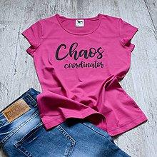 Tričká - Dámske tričko Chaos - 9322962_