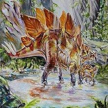 Obrazy - stegosaurus - 9319320_