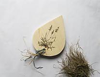 Drevený lopár - trávnatý