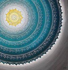 Obrazy - Mandala KOMUNIKÁCIA 80 x 80 - 9323418_