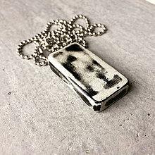 Náhrdelníky - Betónový náhrdelník Geometric Art G&B - 9320970_