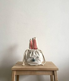 Úžitkový textil - Ušimi vrecúško zajačik - 9320089_