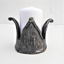 Svietidlá a sviečky - Kovaný svietnik. 10 - 9319902_