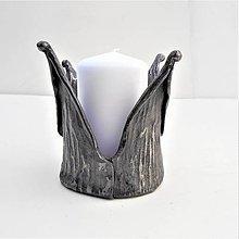 Svietidlá a sviečky - Kovaný svietnik. 13 - 9319943_
