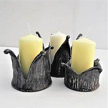 Svietidlá a sviečky - Kované svietniky. 13 - 9320358_
