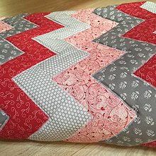 Úžitkový textil - deka patchwork - 9320041_