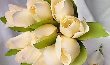 Kytice pre nevestu - Svadobná kytica - tulipány - 9321633_