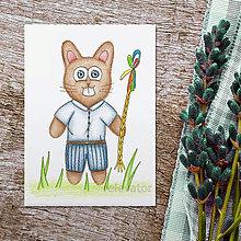 Kresby - Veľkonočný zajac 3 - 9320872_