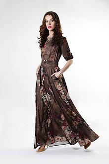 Šaty - Šaty zeléná lúka - 9328195_