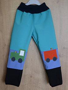 Detské oblečenie - softshellové nohavice - 9327725_
