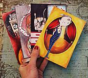 Papiernictvo - Napíš niekomu/ #dreadkuar pohľadnice - 9324626_
