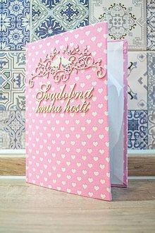Papiernictvo - Kniha hostí na svadbu - 9327585_