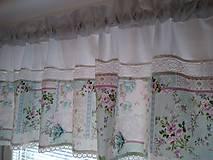 Úžitkový textil - Záclonka,volánik - 9326630_