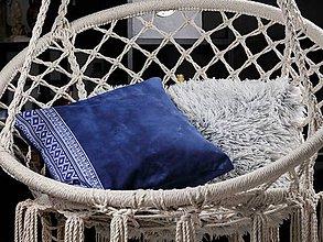 Úžitkový textil - Dekoračná obliečka - Krížiky v oblakoch č.1 - 9325007_