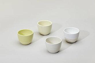 Nádoby - Něžný set espresso šálků (Žltá) - 9328056_