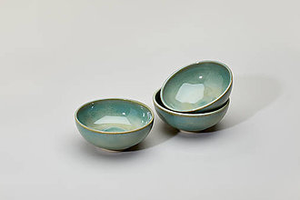 Nádoby - Jarní melounová mini mistička (jasná zelená) - 9328164_