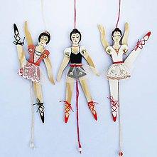 Detské doplnky - Pohyblivá hračka - Baletka (na Vaše zelanie) - 9325533_