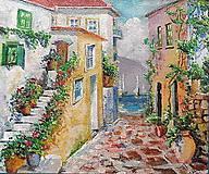 Obrazy - Talianska ulička - 9326645_