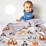 Textil - Detská deka Hello bear - 9326791_