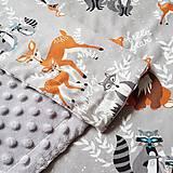 Textil - Detská deka Hello bear - 9326803_