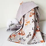 Textil - Detská deka Hello bear - 9326804_