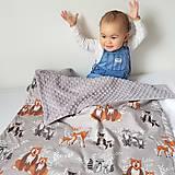 Textil - Detská deka Hello bear - 9326805_