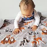 Textil - Detská deka Hello bear - 9326806_