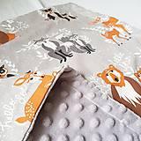 Textil - Detská deka Hello bear - 9326808_