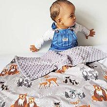 Textil - Detská deka Hello bear - 9326807_