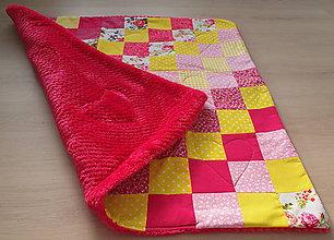 """Textil - Patchworková deka """"lolipop"""" - 9327285_"""