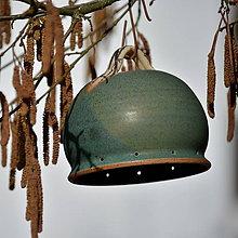 Materiál ručne robený - Zvonek pro další tvoření - Lesní rozbřesk - 9325184_